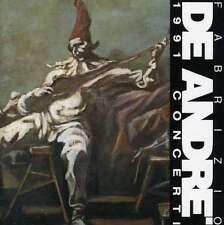 Fabrizio De Andre' - 1991 Concerti 24 Bit Remastered [2 CD] RICORDI VIDEO