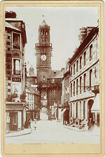 Cabinet : H.Leclerc ; Vire (Calvados) vers 1895