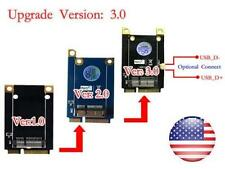 Mini PCI-E Adapter for BCM94360CD/BCM94331CD Upgrade to Version 3.0 #DZ002