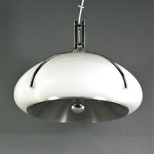 Harvey Guzzini Quadrifoglio Pendant Lamp Luigi Massoni Space Age Light Vintage