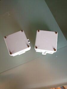 2 NEUE wasserdichte Verteilerdose Abzweigdose Elektrodosen mit Schrauben