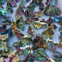 NEW Rare Rainbow Titanium Bismuth Specimen Mineral Gemstone Crystal 20g 50g