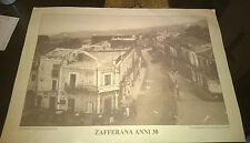"""Arte/Antiquariato/Stampa """" ZAFFERANA ANNI 30 """" Foto Salvatore Tomarchio/cm.50x35"""