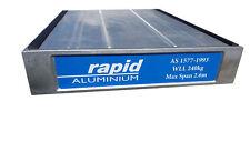 ALUMINIUM PLANK - 3 Metre, Builders, painters, scaffold planks.  ASI standards