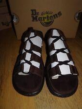 Dr Martens Dark Brown KRISTINA OILY ILLUSION Gladiator Sandals *Size 9 UK* BNIB