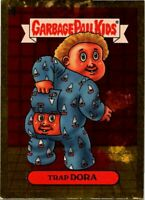 GARBAGE PAIL KIDS 2004 ALL NEW SERIES 1 ANS1 GOLD FOIL CARD #22a Trap Dora