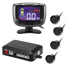 PZ500 LCD Car Parking Sensor Backup Reverse Rear View Radar Alarm 4 Sensors ZUS