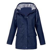 Women Jacket Outdoor Hiking Clothes Lightweight Raincoat Women's Hooded Coats
