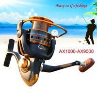 13BB Ball Bearing Metal Saltwater/Freshwater Fishing Spinning Reel AX Series