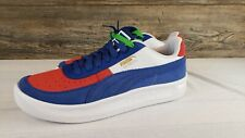 New Puma GV Special Primary Shoe Men's Size 9 372303-01 Blue/White/Red