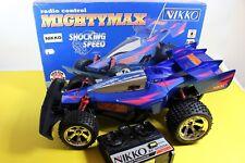 Vintage MightyMax Nikko Radio Control Rare SHOCKING SPEED NOS