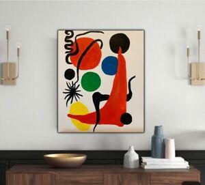 Alexander Calder Green Ball 1971 Abstract Oil Painting  On Canvas 50x60cm Miro