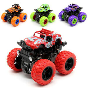 Mini Off-Road Vehicle Four-Wheel-Drive Children Kids Car Stunt Toy As Xmas