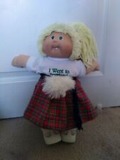CABBAGE PATCH KIDS SCOTTISH DOLLS GIRLS SCARF WORLD TRAVELER