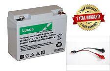 Lucas LSLA20-12 12V 20A Battery