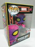 Funko POP: Marvel – Spider-Man Black Light Special Edition Sticker 652 Original