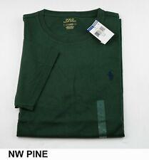 90a0bc60 New Polo Ralph Lauren Mens CrewNeck Solid Short Sleeve T-Shirt-Standard Fit