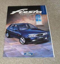 Ford Fiesta Brochure 1995 - 1.25 16v 1.3 1.8D LX Ghia SI Encore
