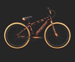 "SE BIKES Orange Camo Blocks Flyer 26"" Se Racing  BMX Bike Ripper Om New In A Box"