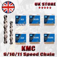 KMC X9 X10SL X11SL Bike Chain 9/10/11/12 Speed Road MTB Chains With Retail Box