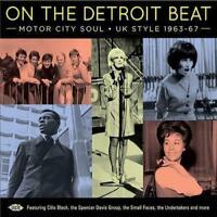 ON THE DETROIT BEAT Motor City Soul - UK Style 1963-67  NEW & SEALED CD (ACE)