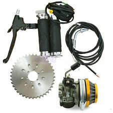 Racing Carburetor Engine Kit & 36T Sprocket 2 Stroke 60cc 80cc Motorized Bicycle
