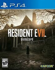 Resident Evil 7 Biohazard - (Playstation 4, 2017) VR Ready Video Game