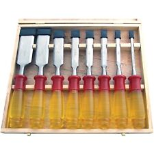 Split Proof Chisel Set 8pc in Wooden Box,  Wood work, DIY Amtech E0610