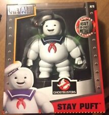 Ghost Busters Stay Puft figure Metals Die Cast Heavy die-cast marsh mellow man