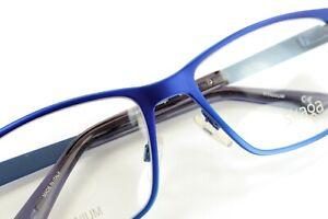 SKAGA 2506-U JUVA 101 Blue 54-18-135 TITANIUM Frames Flex Hinges ITALY S622