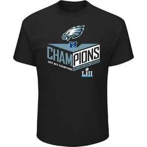 Philadelphia Eagles NFL Men's 2017 NFC Champions Destiny Drive Tee, Medium - NWT