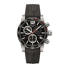 CERTINA MEN'S DS SPORT BLACK SILICONE BAND QUARTZ WATCH C027.417.17.057.02