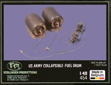 Verlinden Productions 454 US Army Collapsible Fuel Drum 1/48 scale resin kit