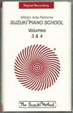 Suzuki Piano School Volumes 3 & 4 performed by William Aide - Sealed Cassette
