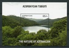 Azerbaijan 2017 MNH Nature Lake Goygol 1v S/S I Trees Tourism Landscapes Stamps