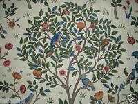 WILLIAM MORRIS CURTAIN FABRIC Kelmscott Tree 2.8 METRES WOAD & WINE 100% COTTON