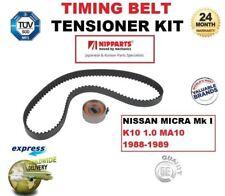 für NISSAN MICRA MK I K10 1.0 MA10 1988-1989 Zahnriemen+Riemenspanner Set
