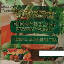 ENERGYBOLIZER  SLIMMING TEA,  APPLE & MANGO, NEW NAME & NEW PACKAGING!
