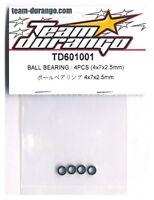 Team Durango TD330577 PIVOT BALL 3*6mm 4pcs