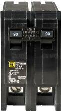 Circuit Breaker 120/240-Volt Ac 90 Amp Double Pole Standard Trip Plug In Type