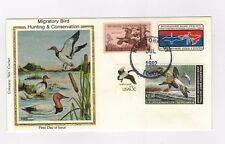 Colorano Silk FDC RW49 $7.50 Canvasbacks Duck Washington DC Cancellation