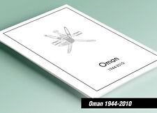 PRINTED OMAN 1944-2010 STAMP ALBUM PAGES (96 pages)