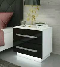 Bedside Cabinets / Table / Free LED !!! / Bedroom Furniture / High Gloss