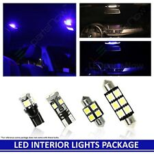 BLUE LED Interior Lights Accessories Replacement for 11-18 Chevy Cruze 12 Bulbs
