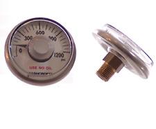 Ashcroft Gauge - :0-1200 PSI  1.5' 2%