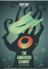 Star Trek Portfolio Prints Animated Series Chase Card TAS13 The Ambergris Elem