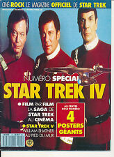 CINE-ROCK 11 (2/88) STAR TREK WILLIAM SHATNER LIONARD NIMOY