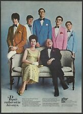 AFTER SIX The Informal Formals   1968 Vintage Print Ad