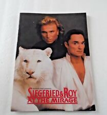 Siegfried and Roy at the Mirage 1994 Program Book
