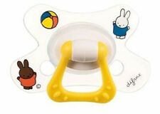 BNIB *Difrax* Toddler Autism MIFFY Solid soother dummy pacifier NATURAL18m+